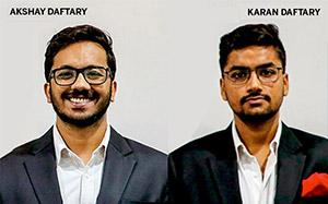 Akshay Daftary, Karan Daftary